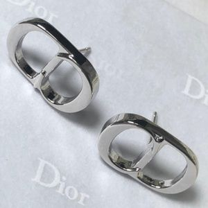 Dior Classic Silver Earrings